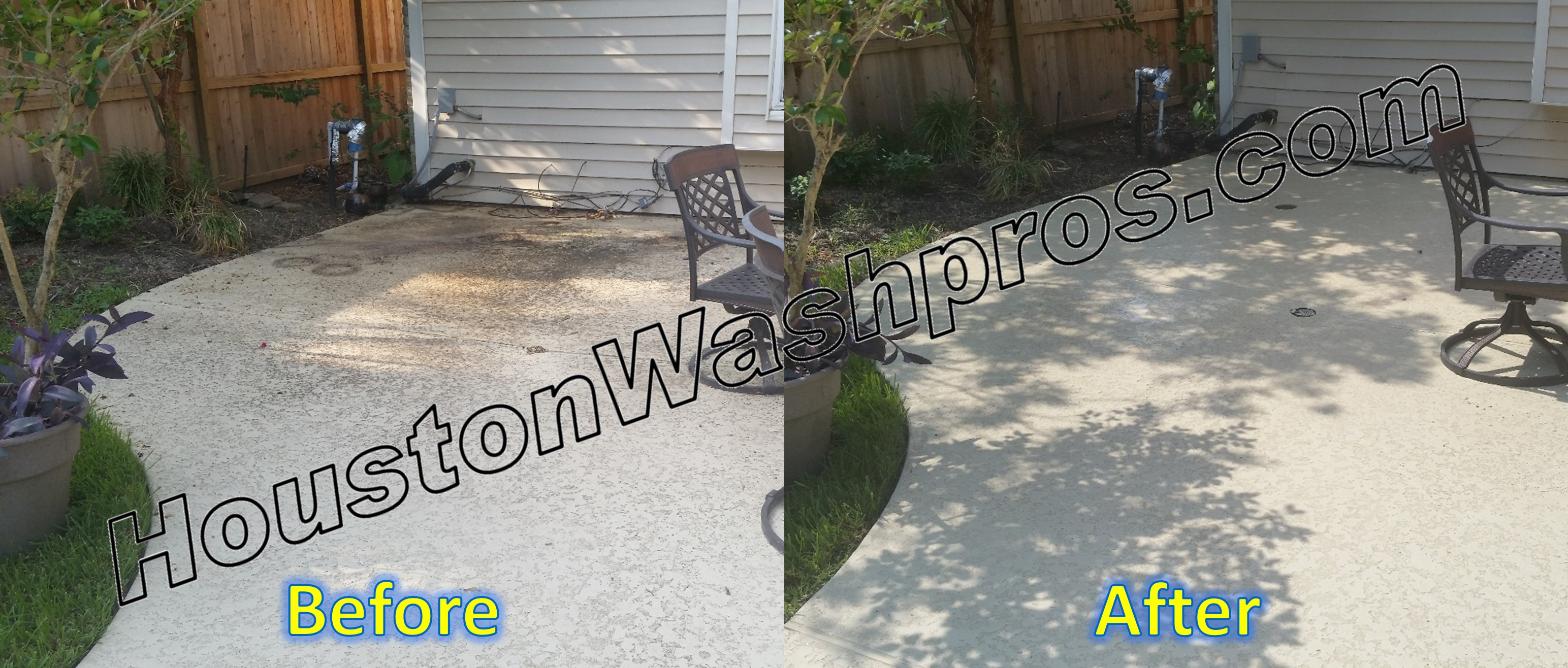 Pressure Washing Houston Patios Pressure Washing