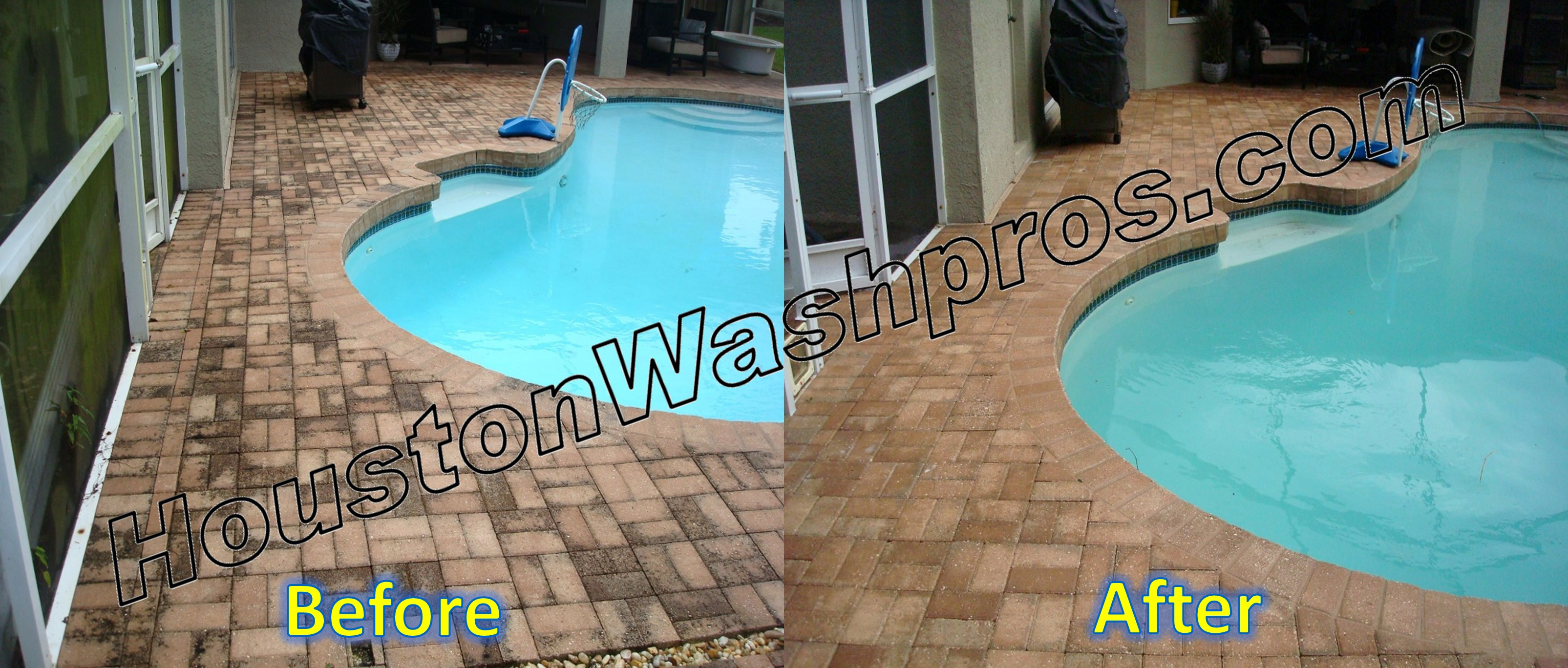 Pressure Washing Houston Pool Decks Pressure Washing