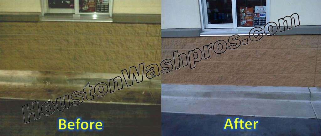 Drive Thru Pressure Washing Houston Cleaning Pressure