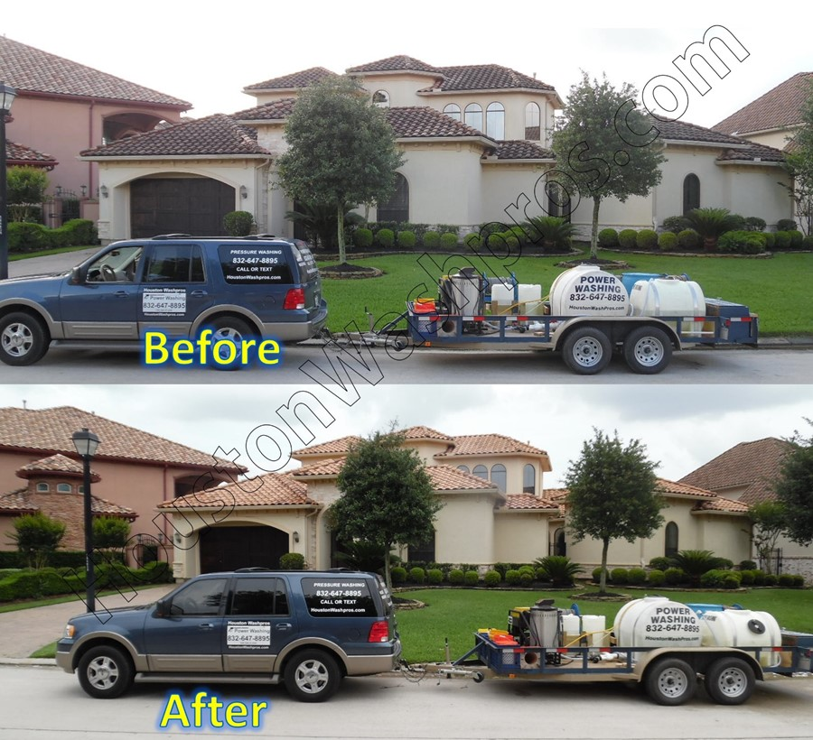 Tile Roof Cleaning in Houston Pressure Washing Service – Can You Pressure Wash A Shingle Roof