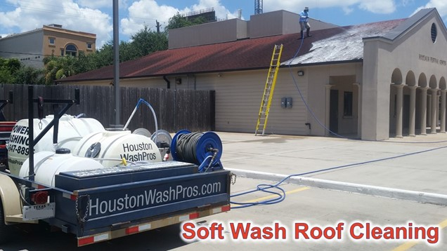 Pressure Washing Houston Roof Cleaning – Can You Pressure Wash A Shingle Roof